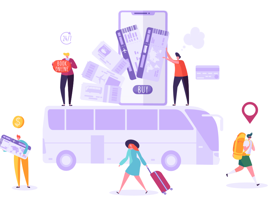 Comprar boletos de autobús: nueva normalidad