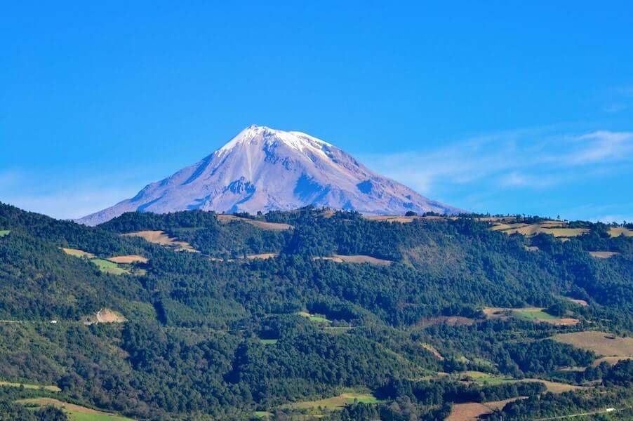 Vista del Pico de Orizaba, Veracruz