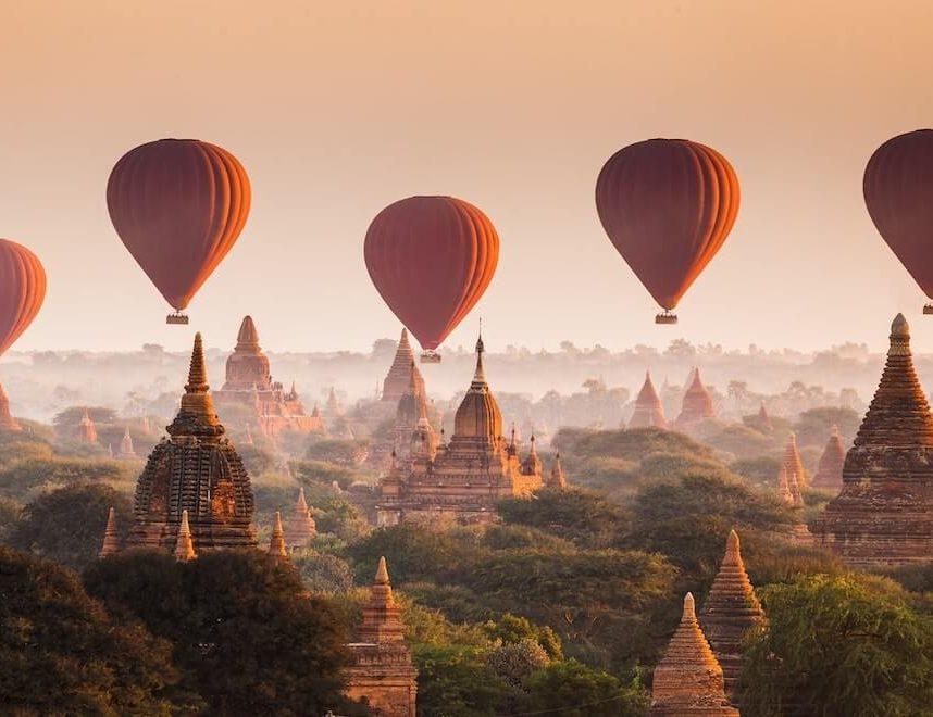 6 destinos del mundo para vuelos en globo