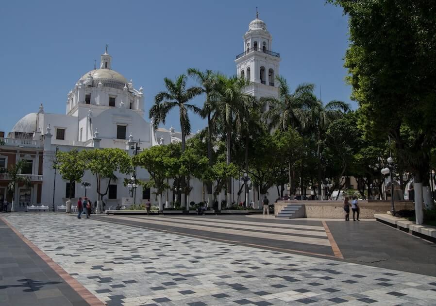 El Zocalo de Veracruz, Mexico