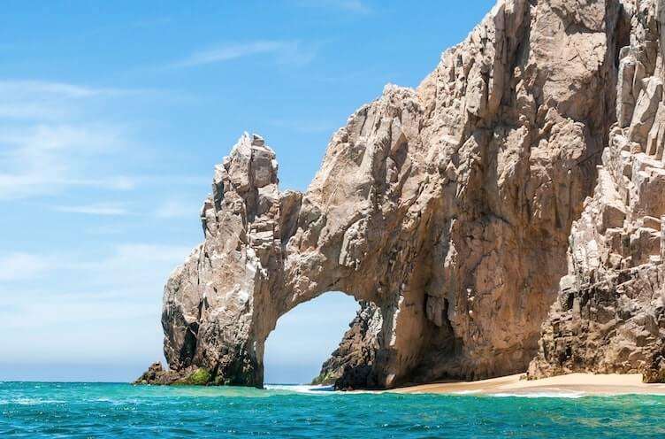 Arco emblematico de Los Cabos