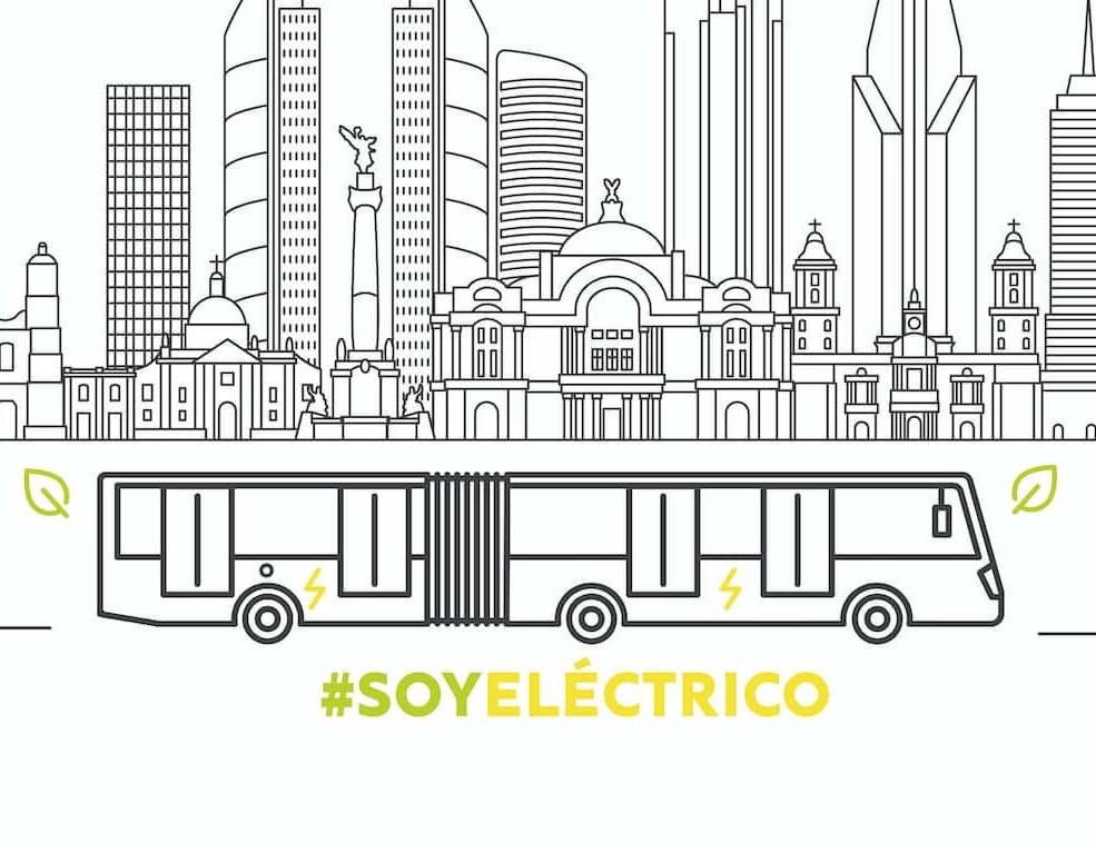 Inicia autobús eléctrico en Línea 3 de Metrobús