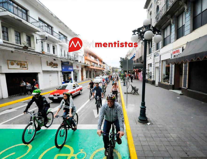 La movilidad sustentable avanza en Xalapa Veracruz con su nueva ciclovía