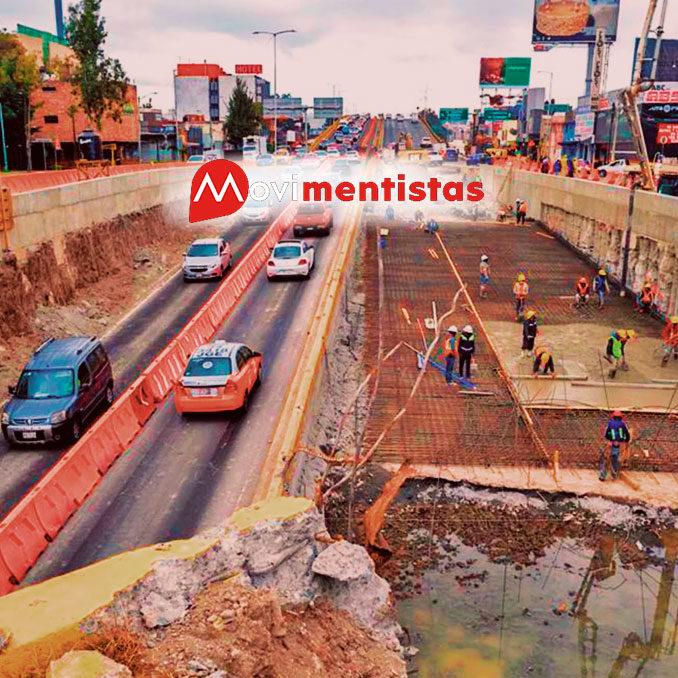 obras de infraestructura vial en cdmx