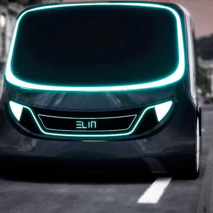 ELIN: el coche con interior inteligente, conectado y compartido