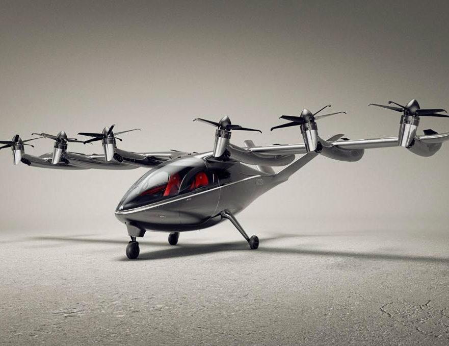 ¡Es un avión! !Es un taxi! ¡Es eléctrico! ¡Es un taxi urbano aéreo eléctrico!