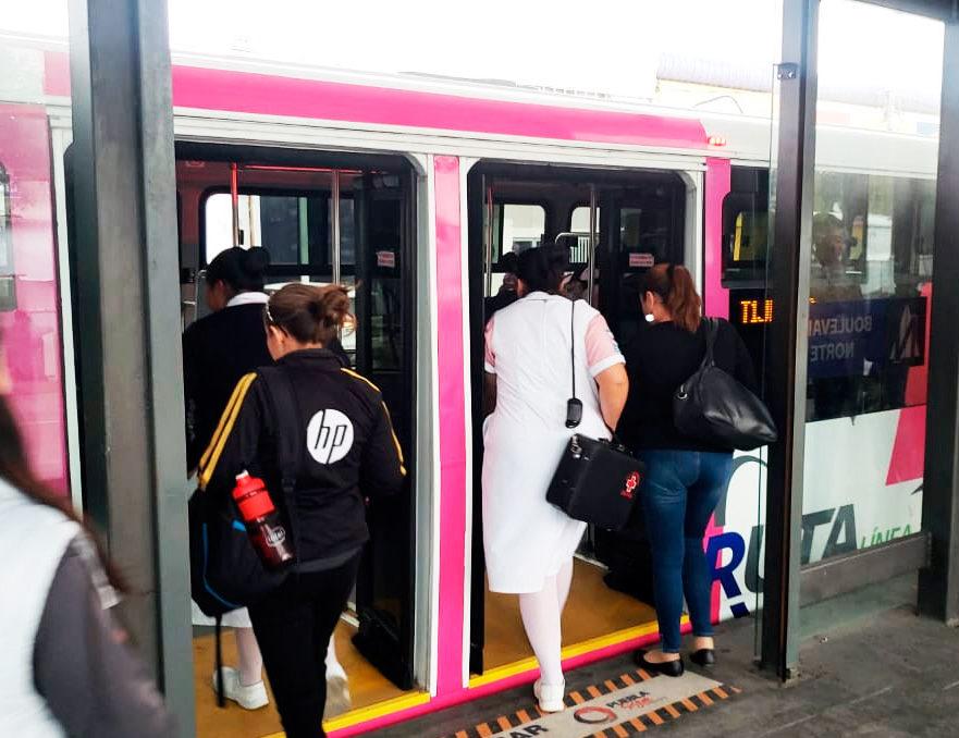 Por la seguridad del transporte público en Puebla