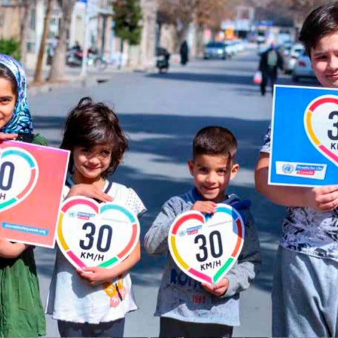 Calles para la vida: la nueva iniciativa de la ONU