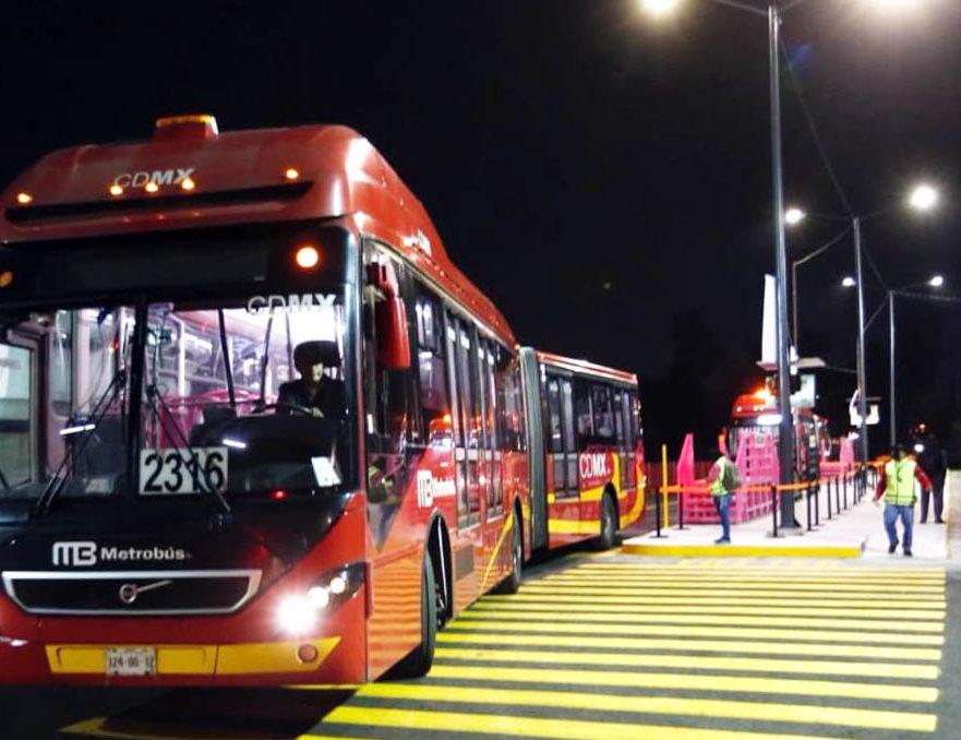 Metrobús ya respalda a la Línea 12 sobre avenida Tláhuac