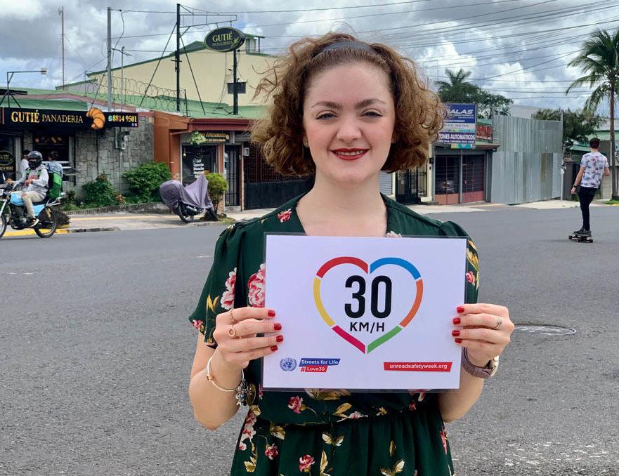 ONU: bajemos el límite de velocidad a 30 km/h en zonas urbanas