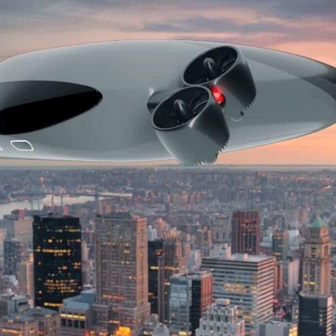 Conoce el nuevo avión eléctrico sin alas con batería de litio
