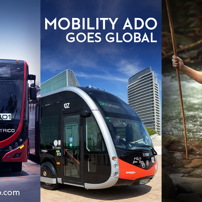 MOBILITY ADO: On its way to become a more sustainable mobility company.