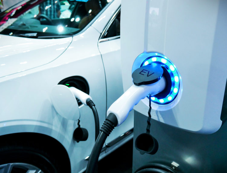 How many electric vehicles are there in Latin America?