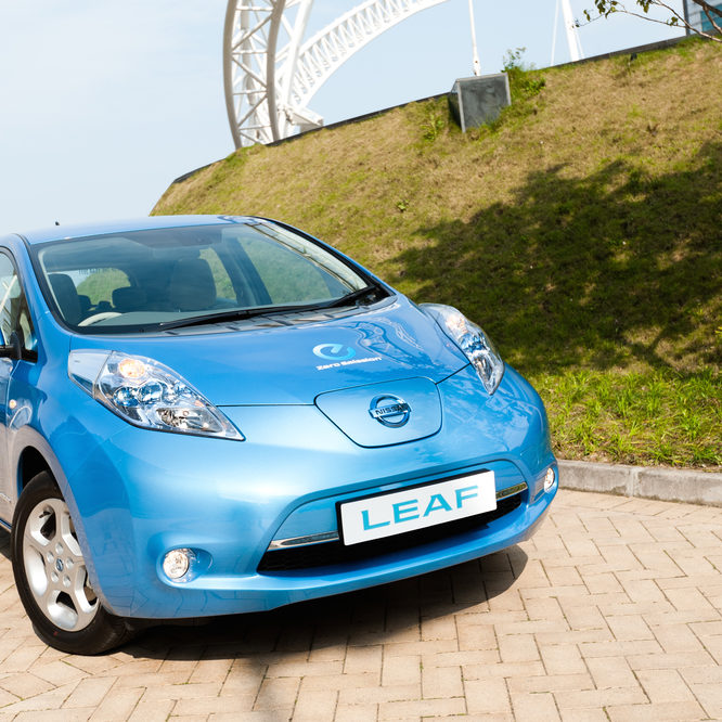Nissan's role in the history of electomobility